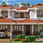 Beautiful Home Exterior Square Feet Kerala