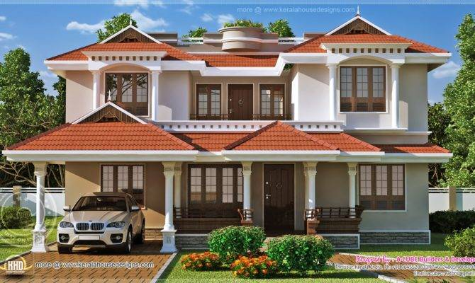 Beautiful Home Exterior Square Feet Kerala