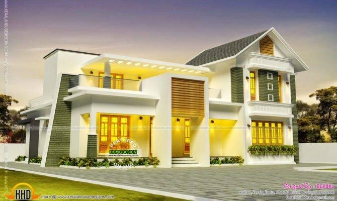 Beautiful House Design Kollam Kerala Home