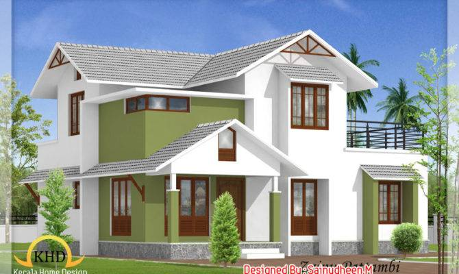 Beautiful House Elevation Designs Kerala Home Design Floor Plans