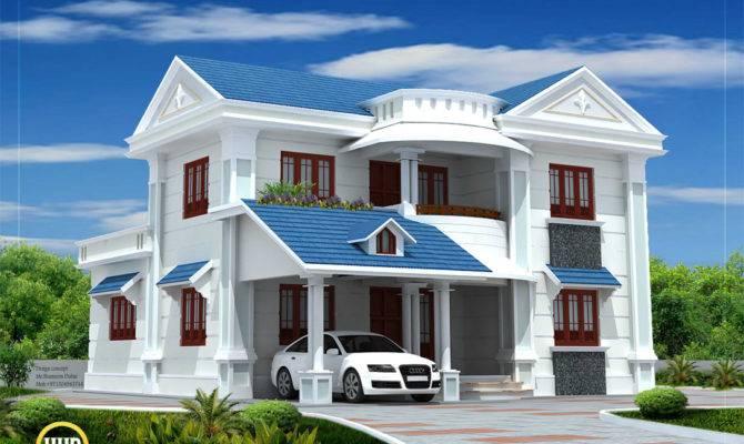 Beautiful House Elevation Kerala Home