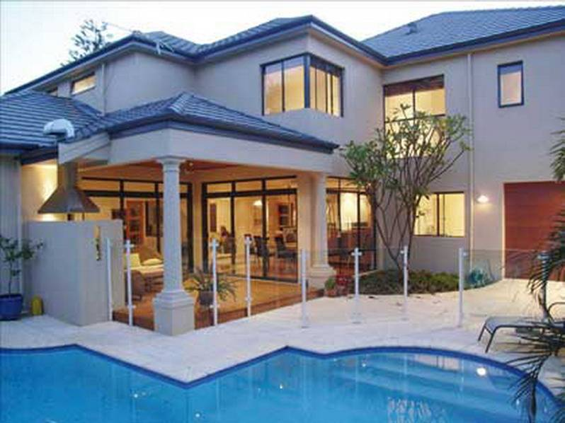 Beautiful House Exterior Design Swimming Pool Plans 34346