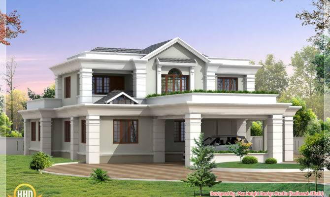 Beautiful Indian House Elevations Kerala Home Design