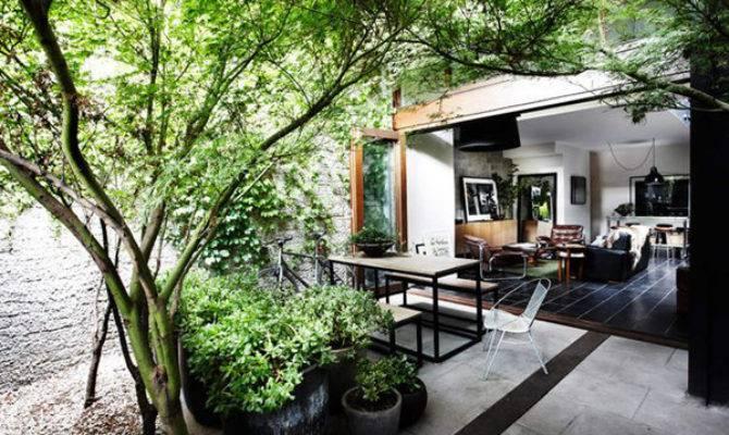 Beautiful Indoor Courtyard Gardens Home Design