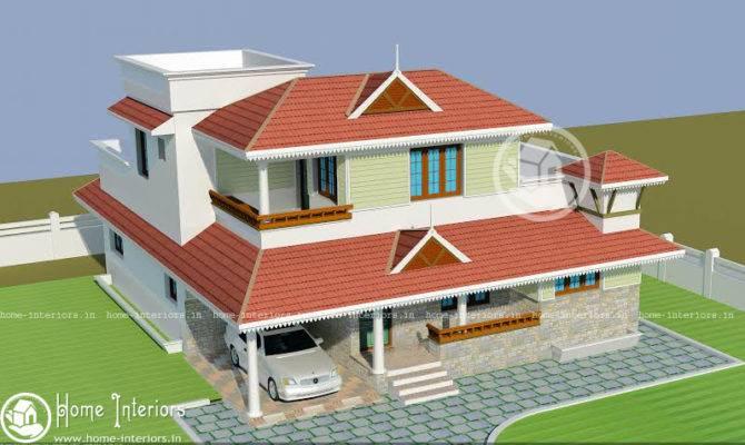 Beautiful Kerala Home Design Plan