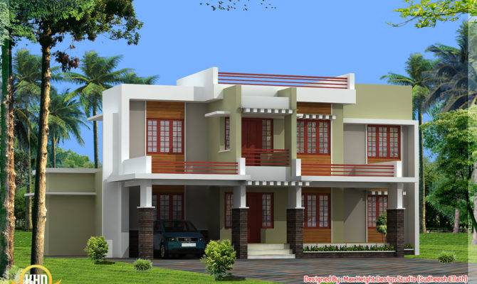 Beautiful Kerala Home Elevations Design Floor Plans