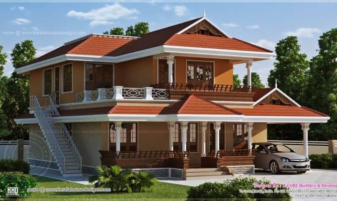 Beautiful Kerala House Design Home Plans