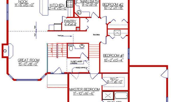 Beautiful Level Home Plans House Floor