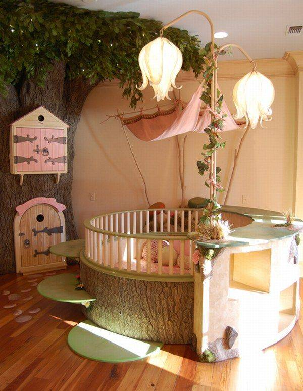 Beautiful Little Girls Bedroom Fairy Tale Ambiance House Plans 94047
