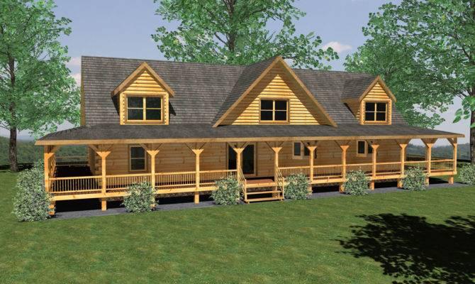 Beautiful Log Home House Plans Cabin