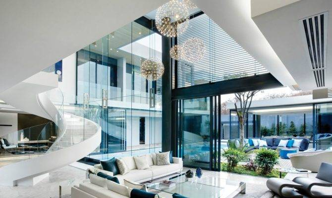 Beautiful Luxe Home Design Contemporary Decoration