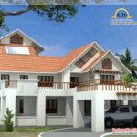 Beautiful Luxury Storey Home Elevation Square Meter