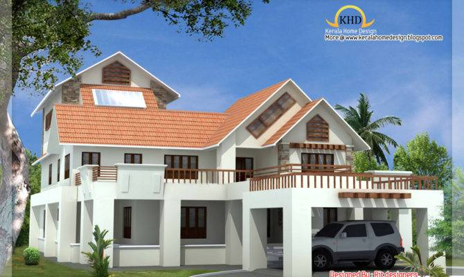 Beautiful Luxury Story Home Elevation