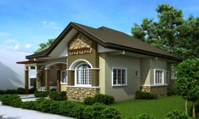 Beautiful Modern Bungalow House Designs Floor Plans