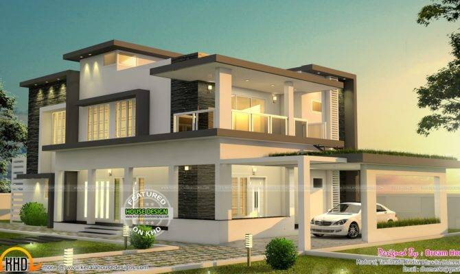 Beautiful Modern House Tamilnadu Kerala Home Design