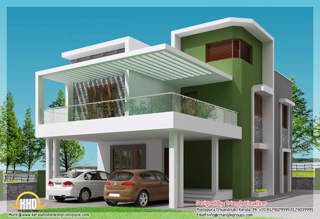 Beautiful Modern Simple Indian House Design - House Plans ...