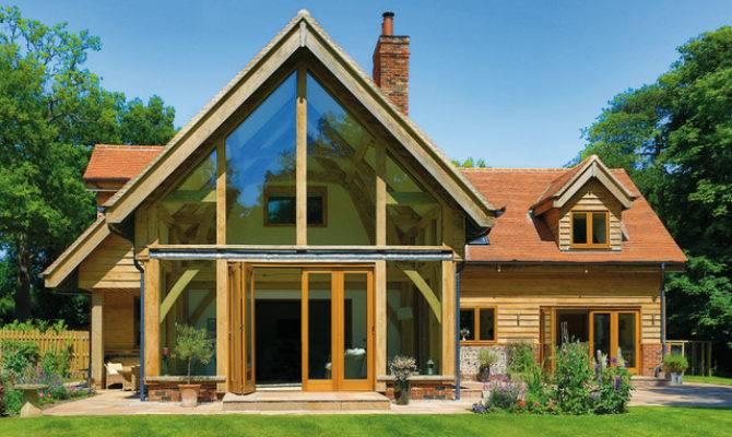 Beautiful Oak Frame Houses
