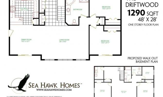 Beautiful One Story House Plans Finished Basement