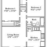 Beautiful Popular Apartment Floor Plans Bedroom Hall
