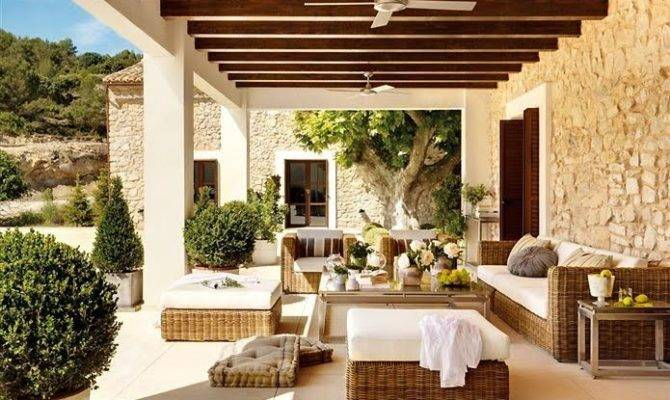 Beautiful Rooms Cool Relaxing Patios Porches