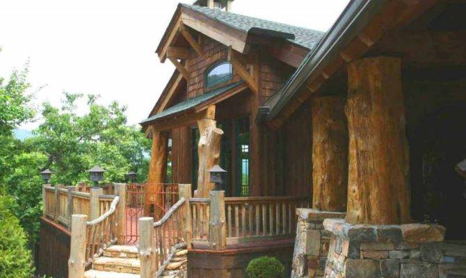 Beautiful Rustic Home Facade