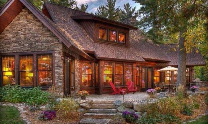 Beautiful Rustic Home Pinterest