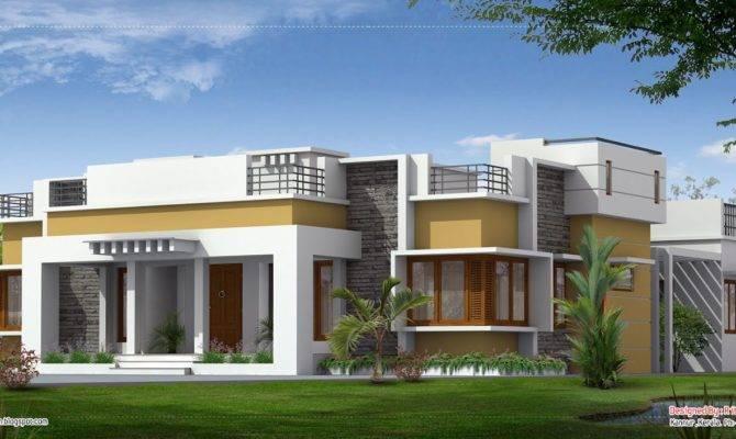 Beautiful Single Floor Home Kerala House Design Idea