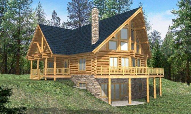 Beautiful Small Log Home Plans Cabin House