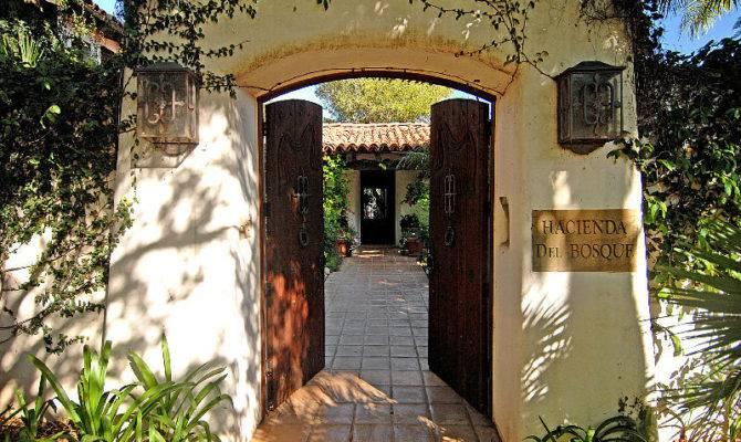 Beautiful Spanish Hacienda Santa Barbara Idesignarch