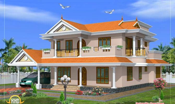 Beautiful Storied House Design Kerala