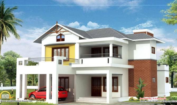 Beautiful Story Home Kerala Design
