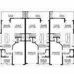 Beautiful Triplex House Plans Eplans Craftsman