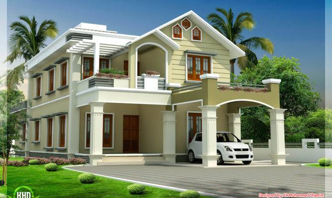 Beautiful Two Floor House Design