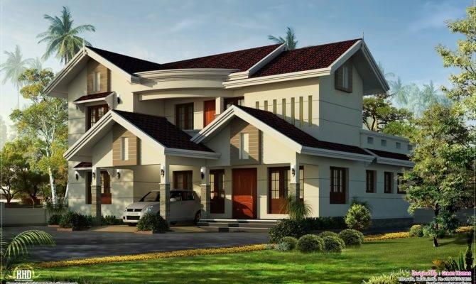 Beautiful Villa Feet Kerala Home Design