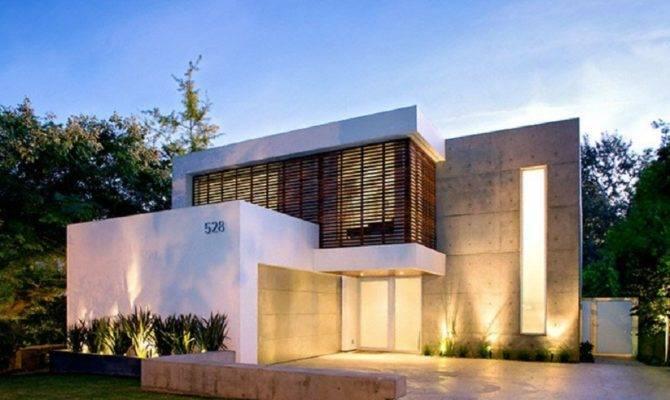 Beautiful Wonderful Comfort Sharp House Designs Facade Minimalist