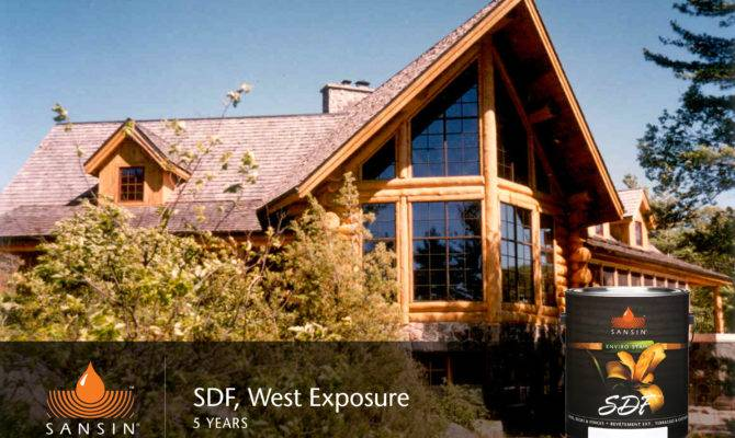 Beautiful Wood Protection Log Home Exteriors