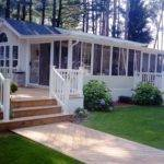 Beauty Decks Mobile Homes Exterior Design Ideas Erins Creative
