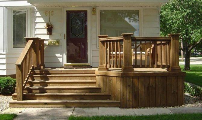Beauty Practicality Wood Decks Iowa