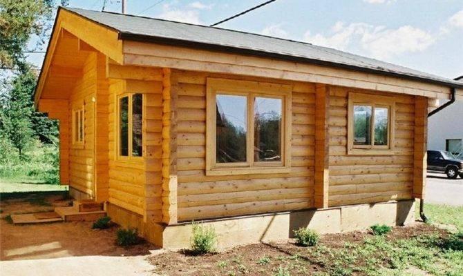 Beaver Wide Small Cabin Floor Plans