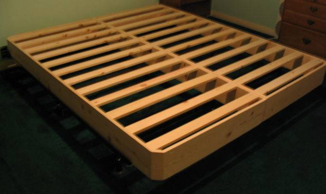 Bed Frame Plans Choosing Latest Frames