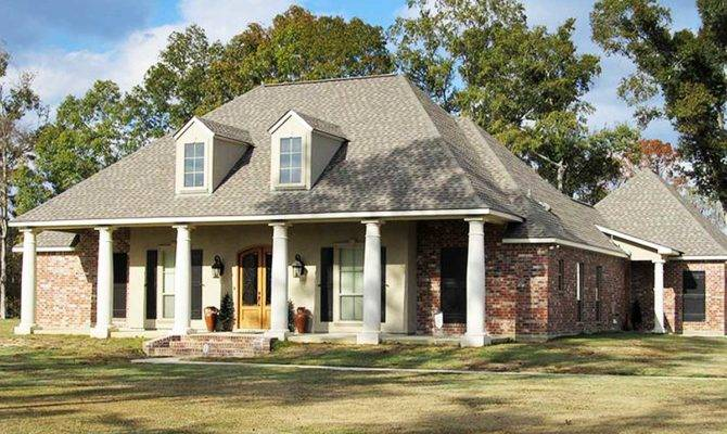 Bed French Acadian House Plan Architectural