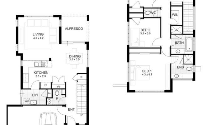 Bed House Floor Plans