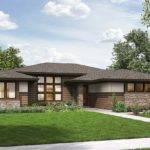 Bed Modern Prairie Ranch House Plan