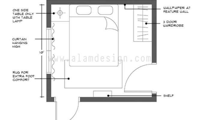 Bed Room Layout Normal Teen Bedroom Small
