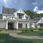 Bedrm Farmhouse House Plan