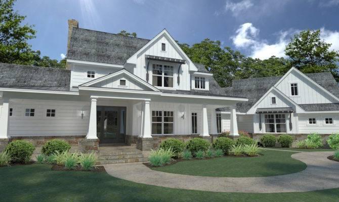 Bedrm Farmhouse House Plan