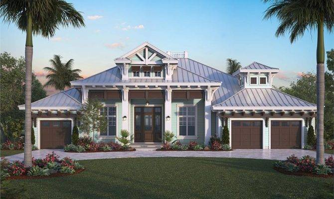 Bedrm Florida Style House Plan