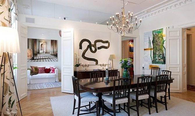 Bedroom Apartment Classical Interior Design Sweden