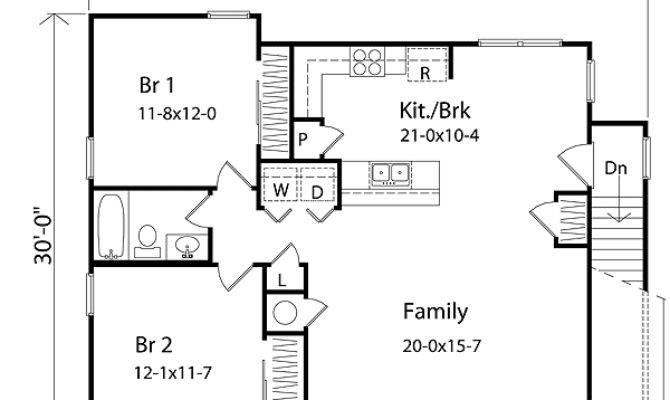 Bedroom Apartment Floor Plans Garage Euglena Biz