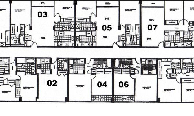 Bedroom Apartment Floor Plans Real Estate